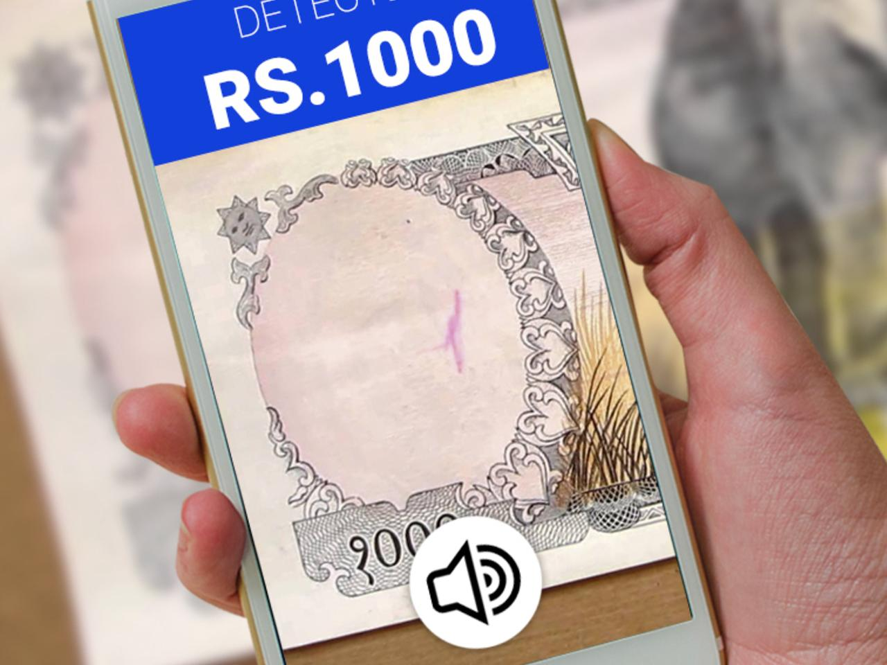 Cash Recognition for Visually Impaired