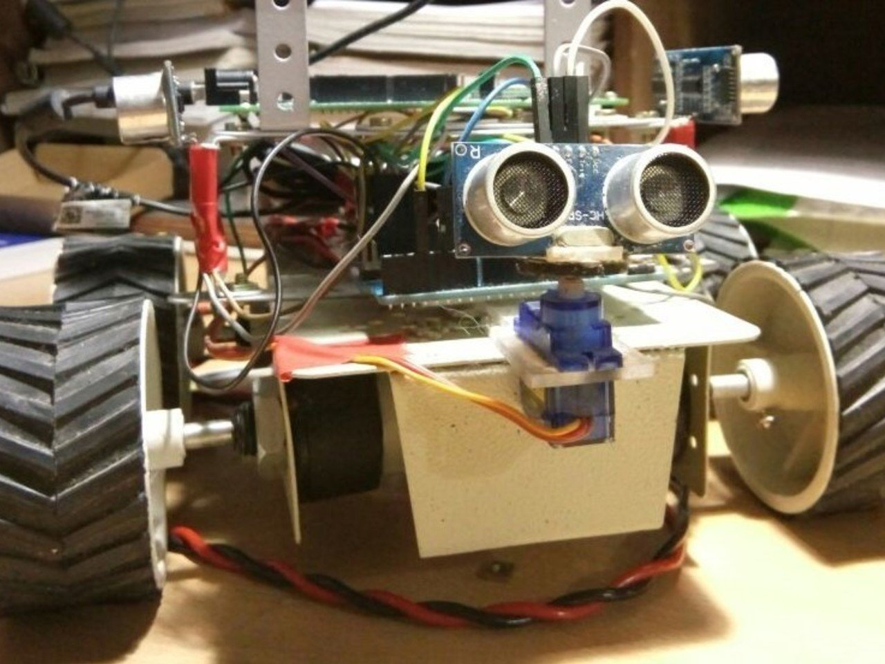 Autonomous Robot for 2D mapping and Navigation.
