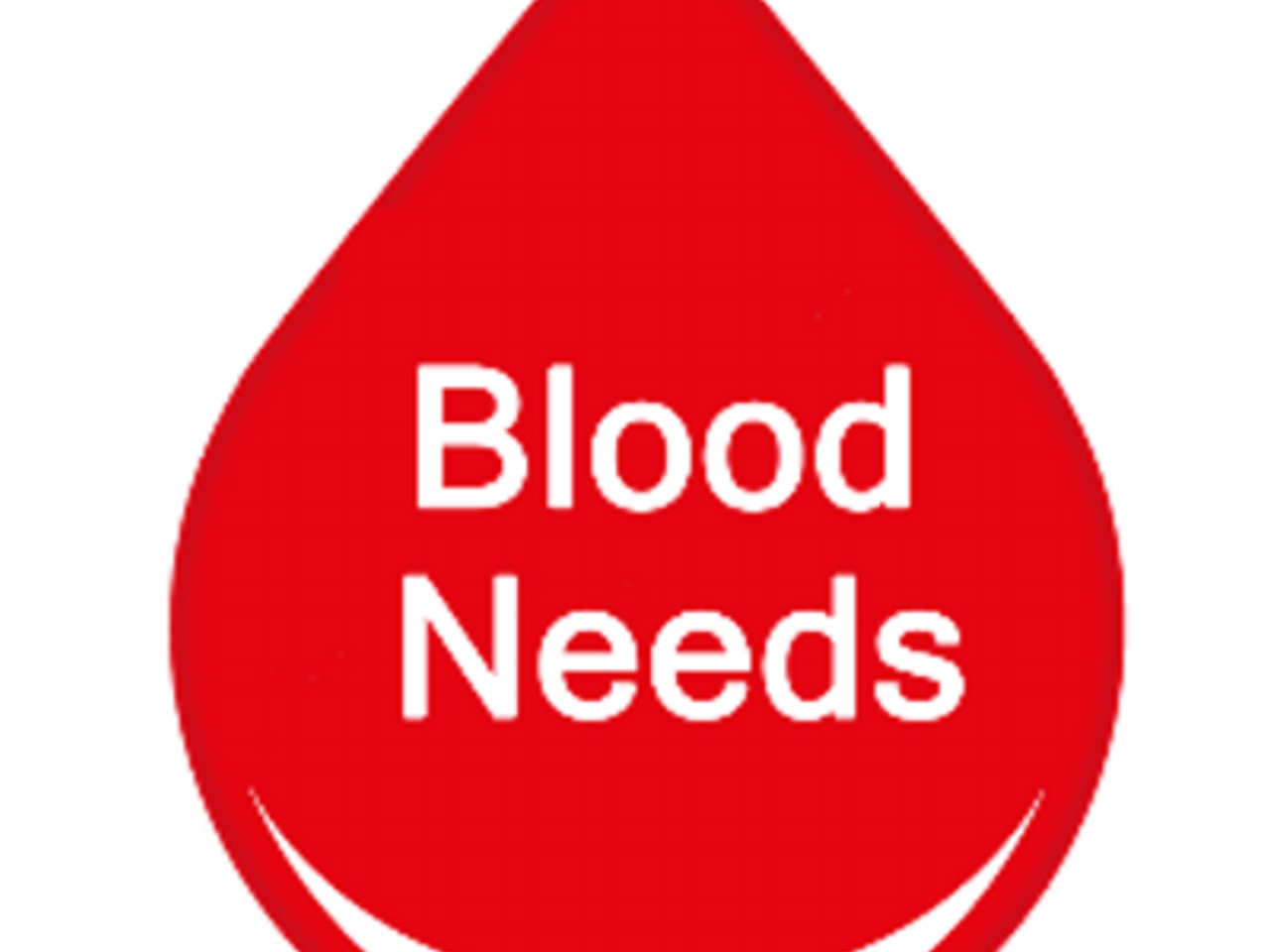 Blood in need