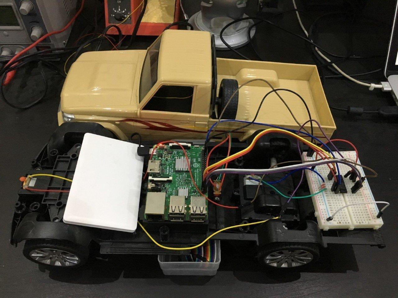 Self-Driving RC Car
