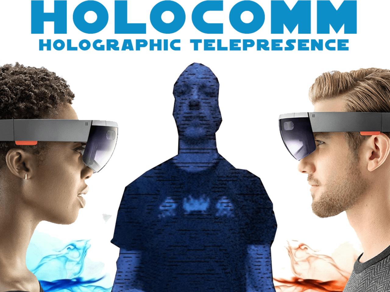 HoloComm holographic telepresence