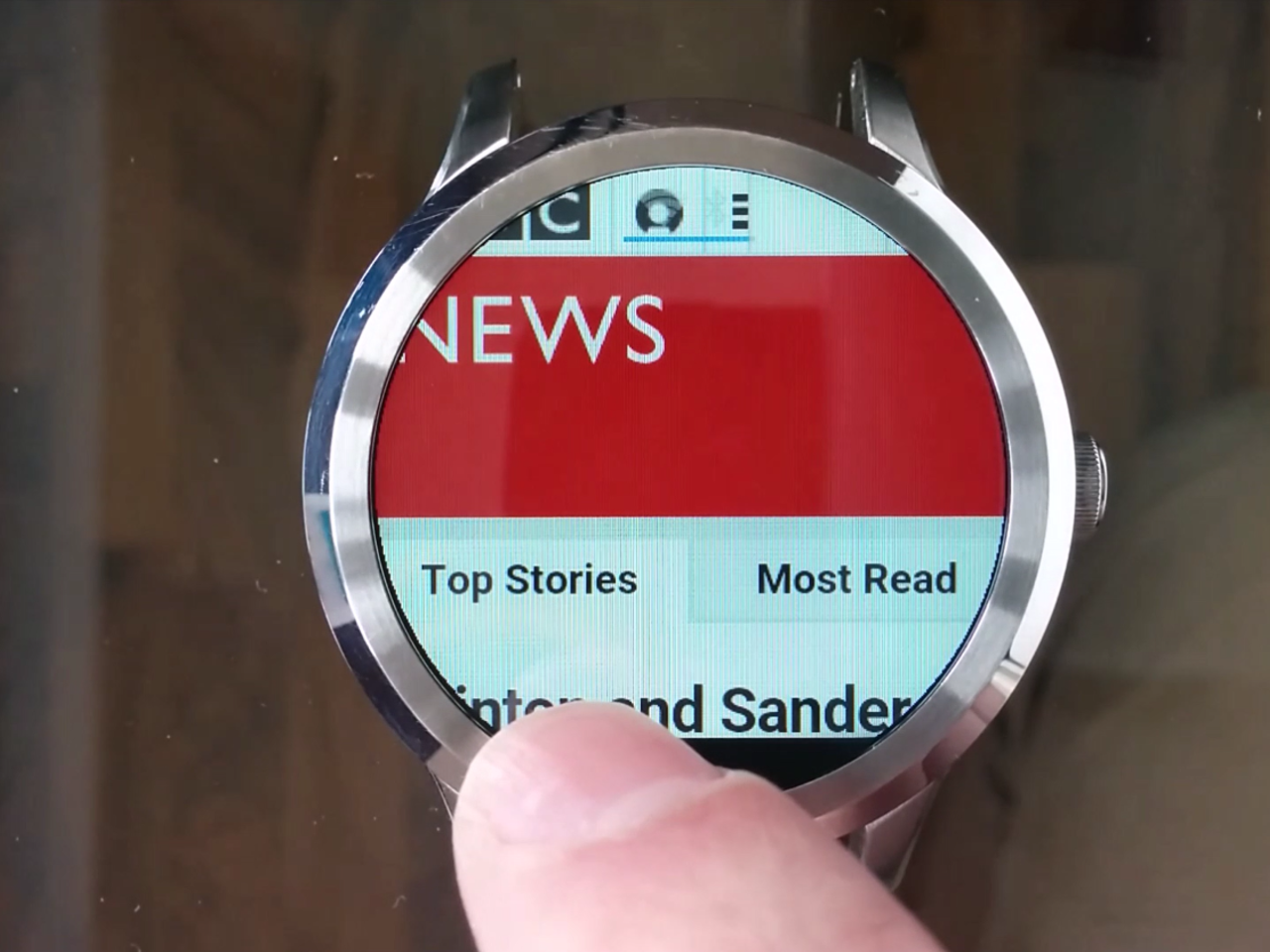 Apps for Intel powered smartwatches