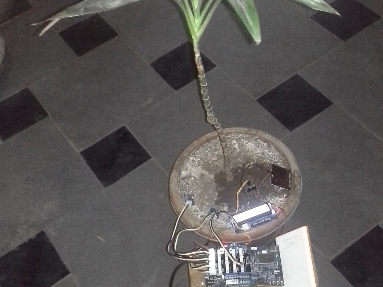Intel Edison powered IoT home plant monitoring and water control system