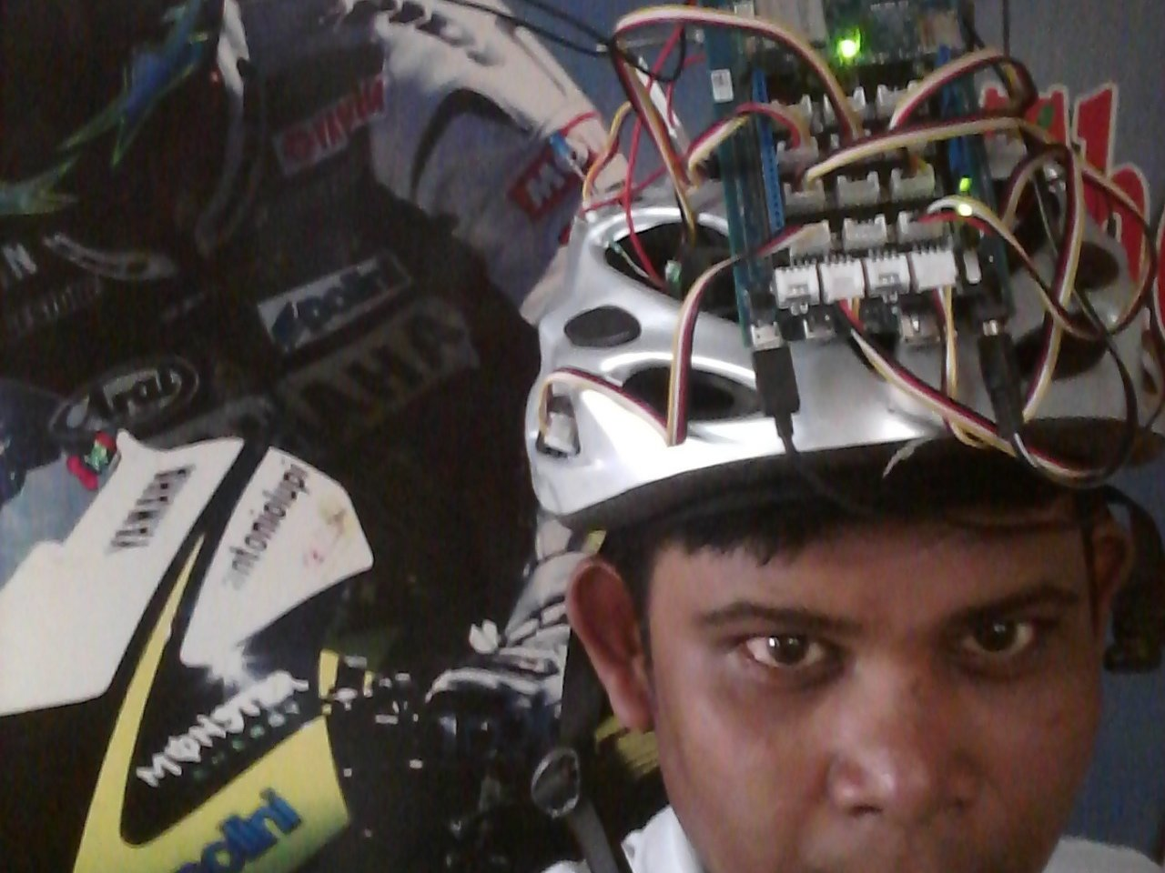 Cool Head: Temperature Controlled Fully Functional Helmet with Intel Edison