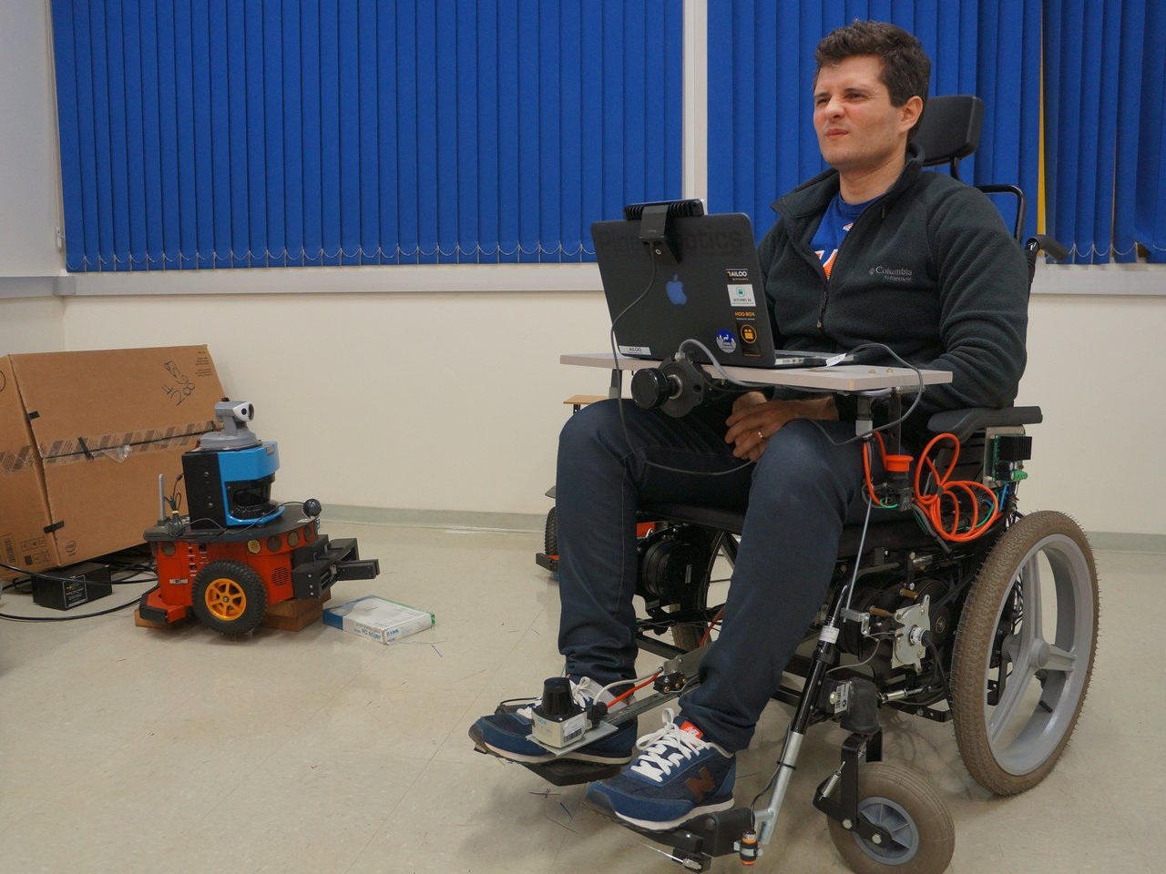 Wheelie - Using Intel RealSense Technology to drive Wheelchairs.