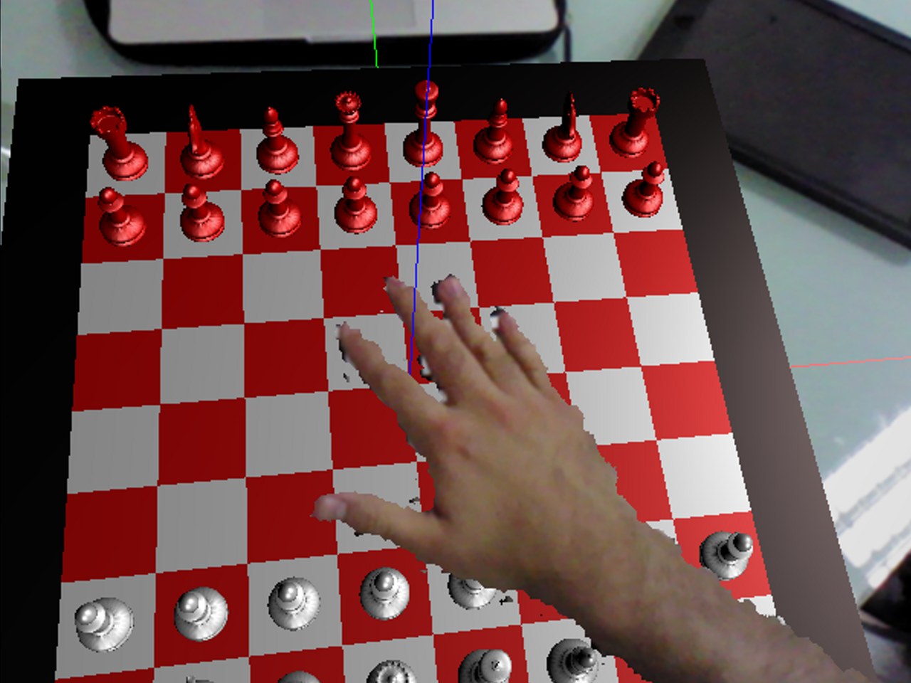 An Interactive Augmented Reality Chess!