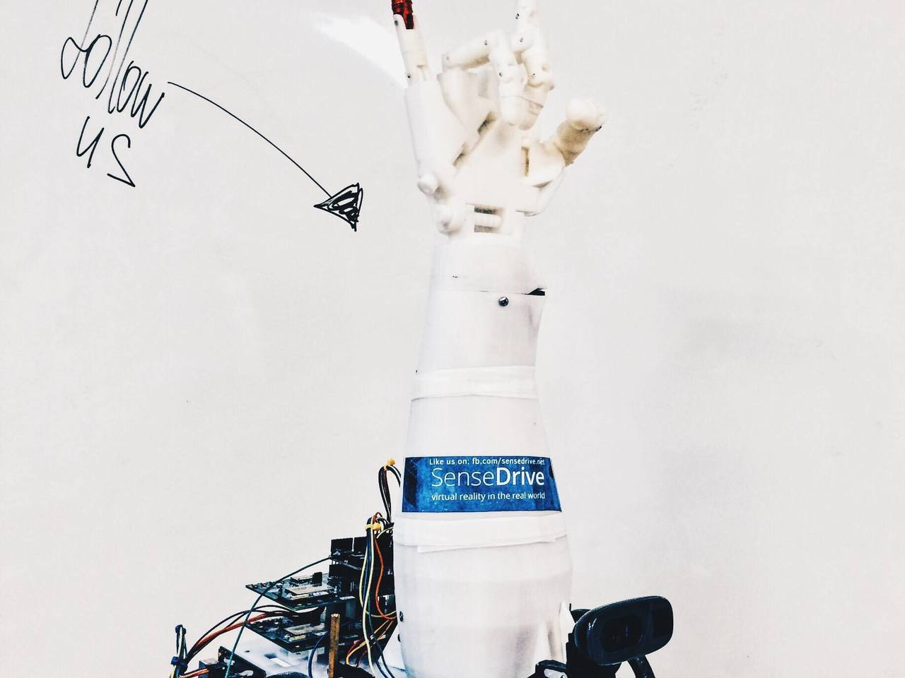 Robot-avatar SenseDrive - symbiosis of human, mechatronics and virtual reality!