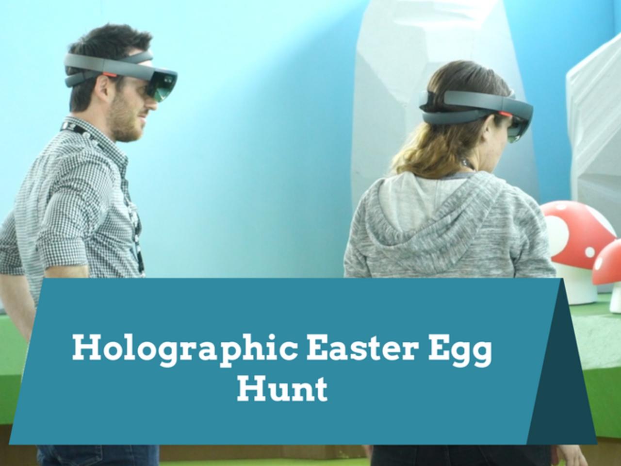 VRLA Holographic Easter Egg Hunt