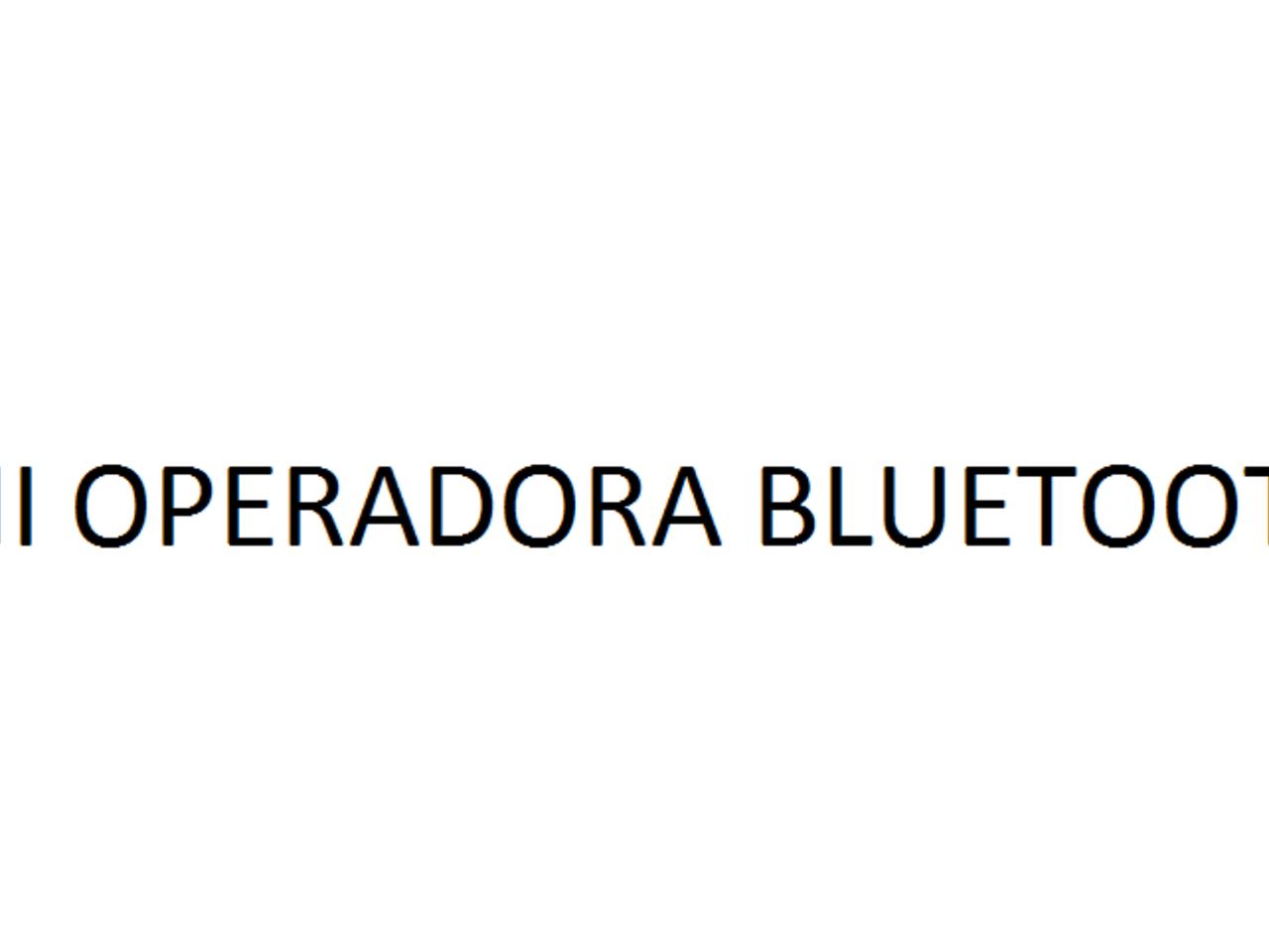 Mini Operadora Bluetooth