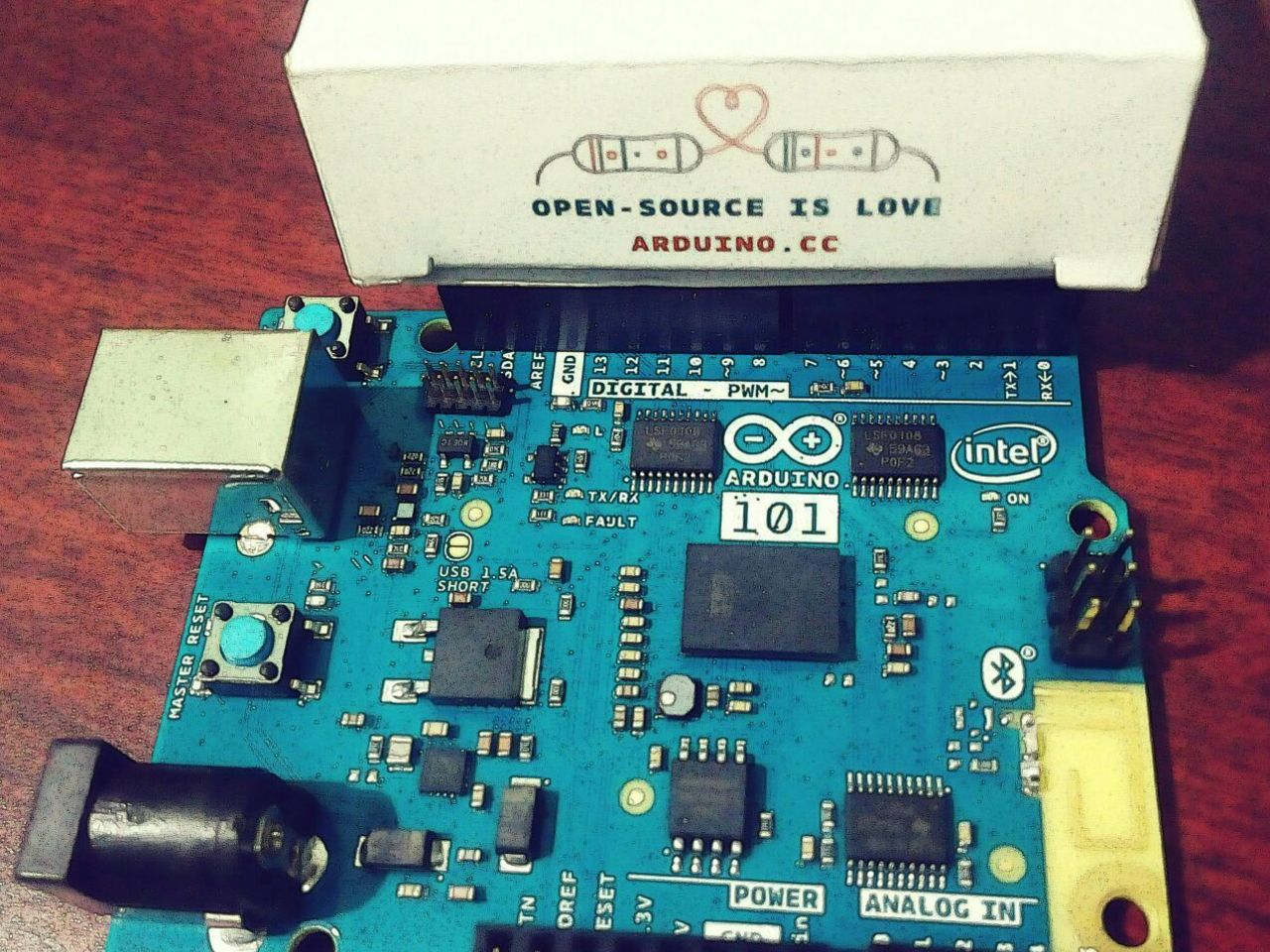 Home Automation using Intel Curie