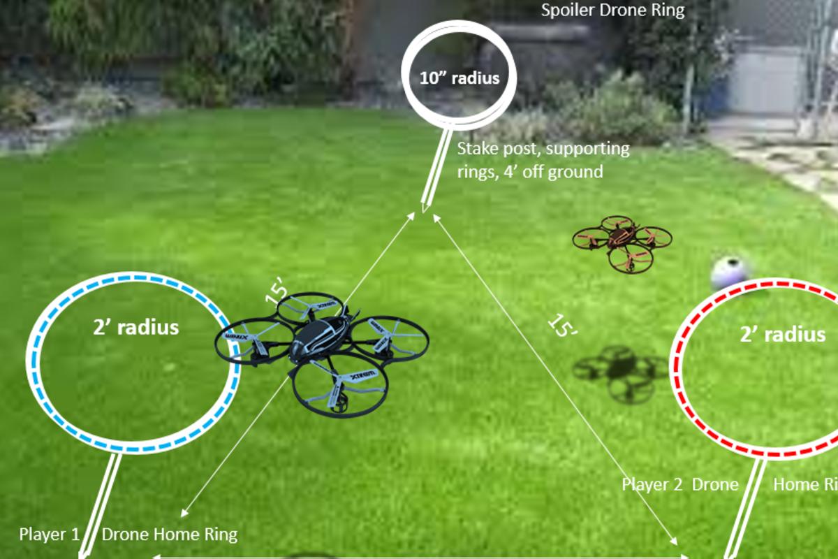 Mini Drone Game