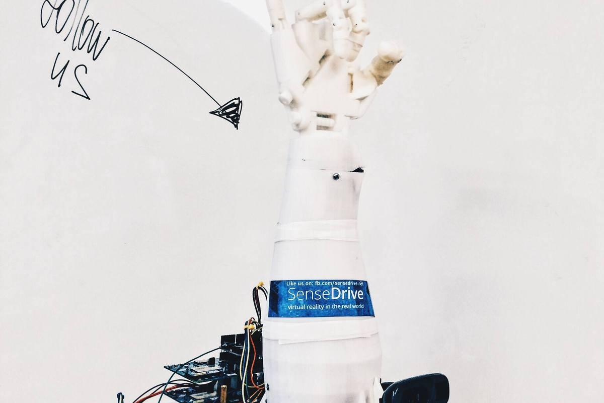 Robot-avatar SenseDrive - symbiosis of human, mechatronics and virtual reality!