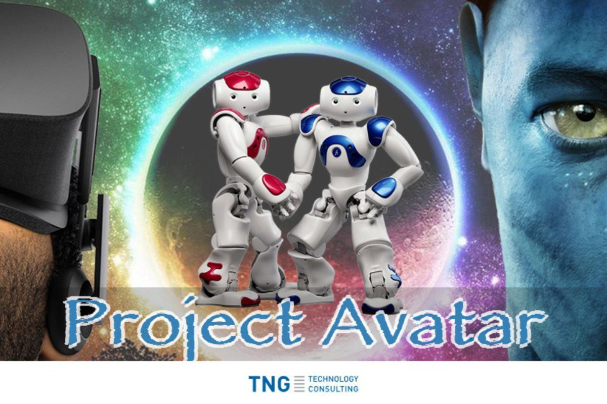 Project Avatar - An immersive, gesture controlled telepresence robotics system