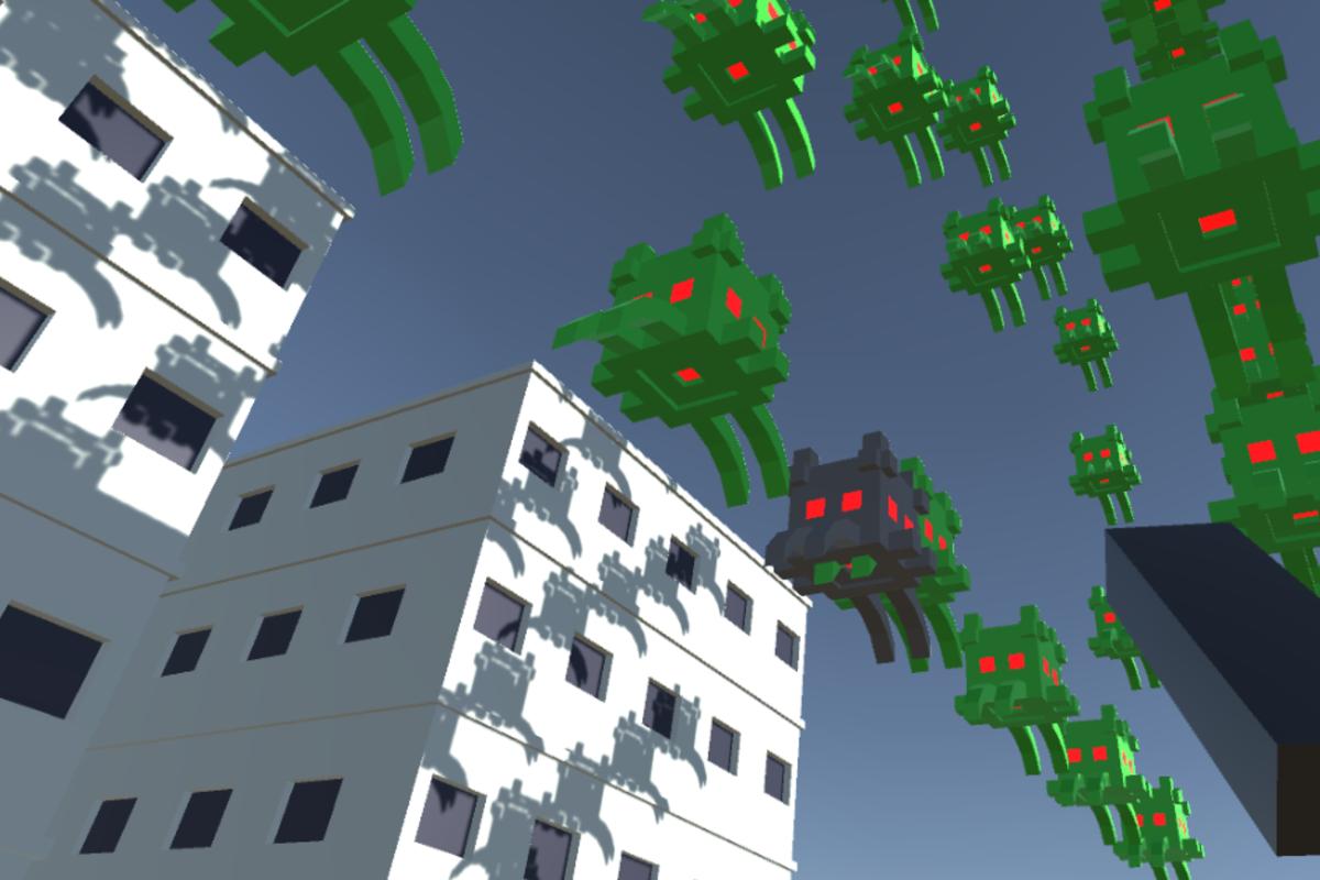 Space Invader VR - Minigame
