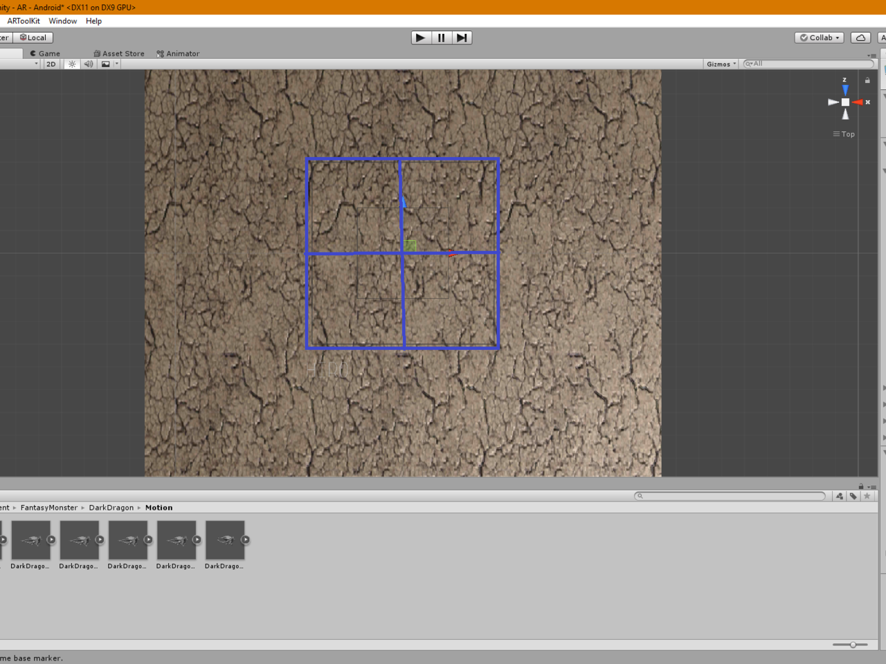 Tracking 2D marker in 3D space using unity3d and ARToolkit   Intel