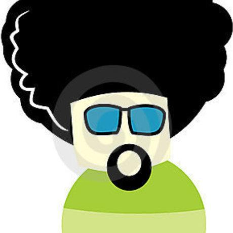 Bigger afro cartoon characters