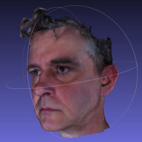 Bigger bob duffy 3d head avatar