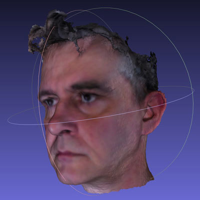 Bob duffy 3d head avatar