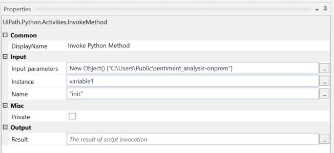 Sentiment Analysis ML Model - on Premise | UiPath Go!