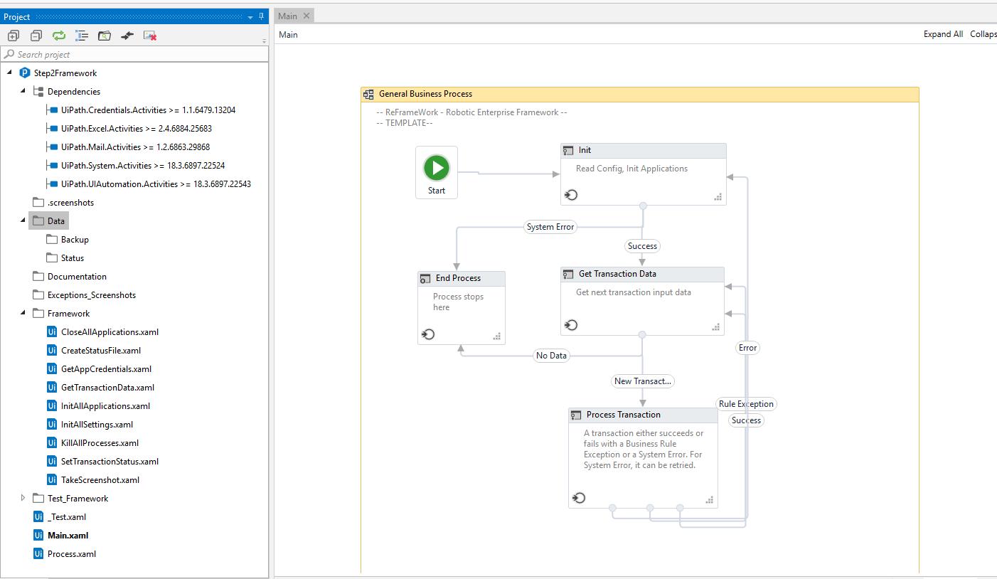 ReFramework for Tabular Data | UiPath Go!