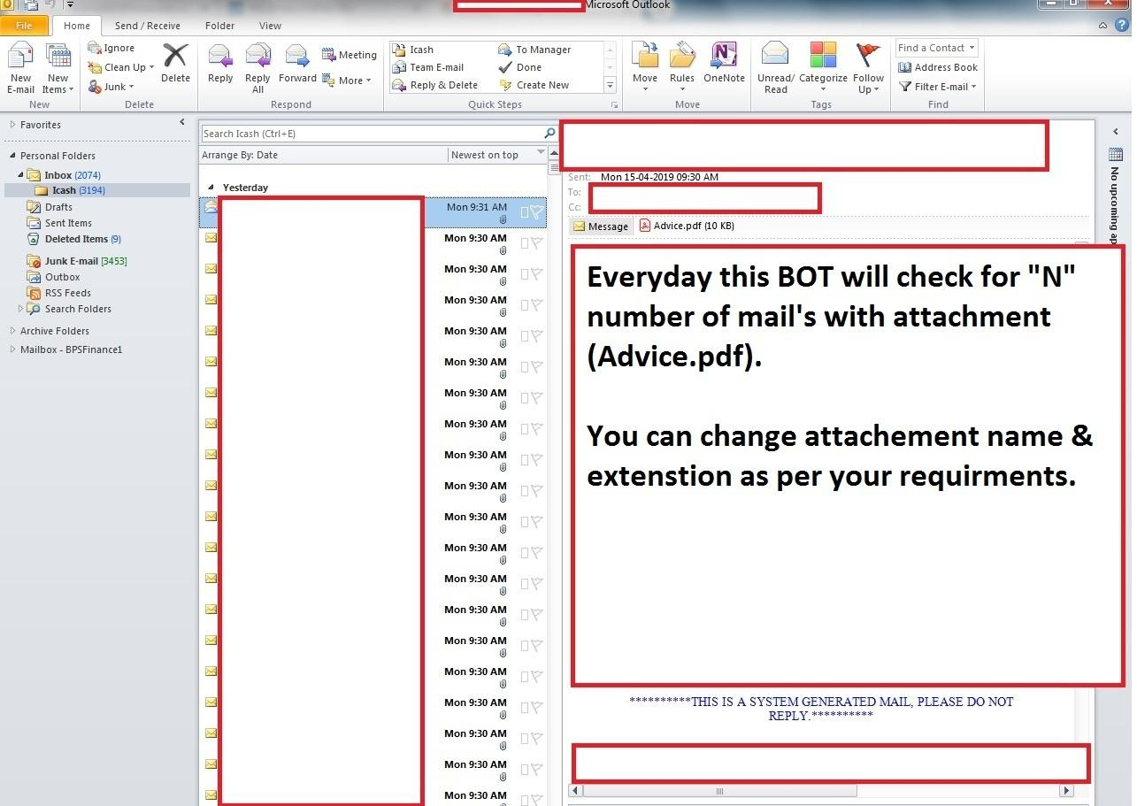 Print Invoice from Email Attachment   UiPath Go!