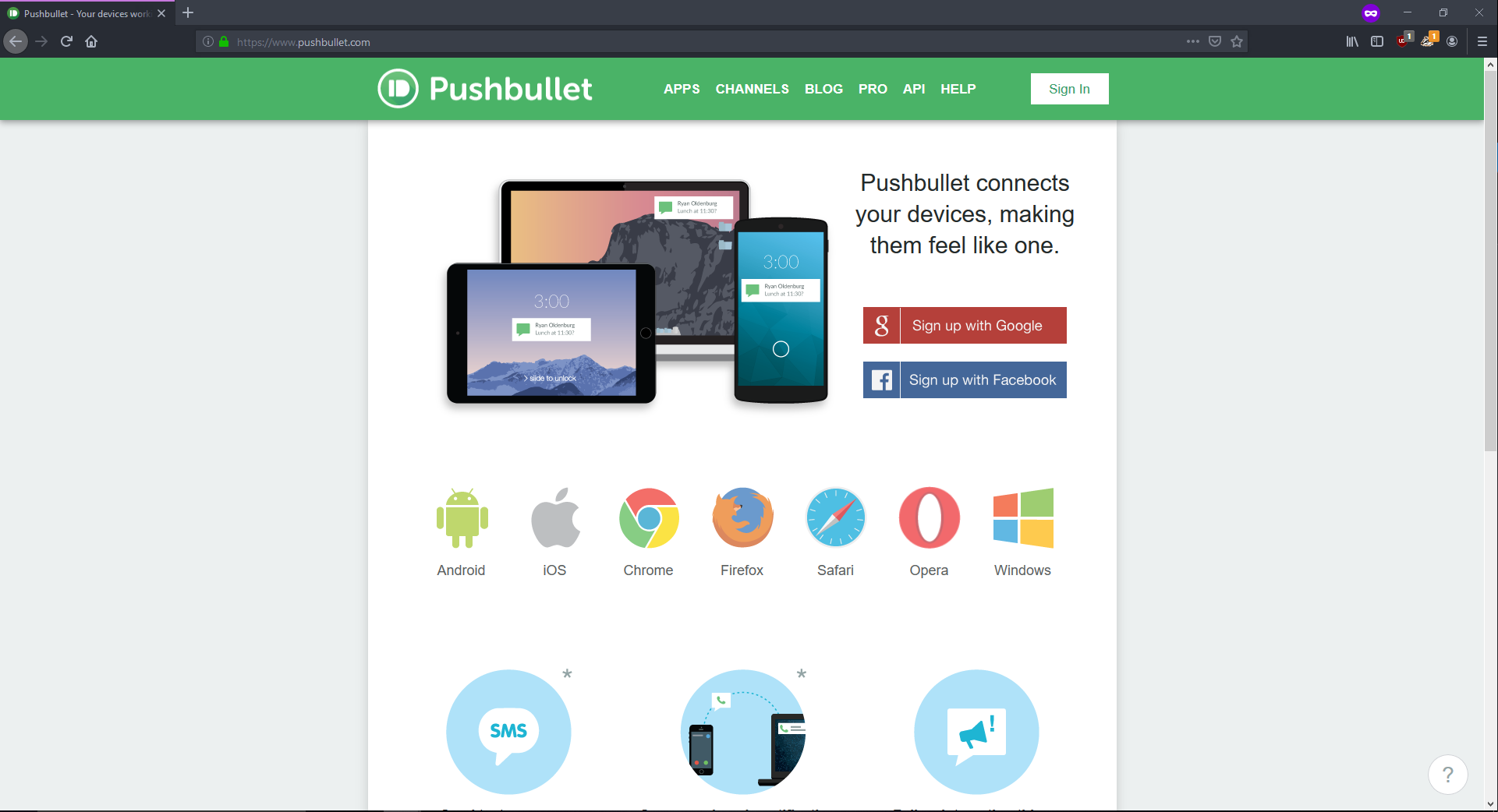 PushBullet - Send Push Notifications and more | UiPath Go!
