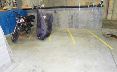 Motorcycle Indoor Parking space for Rent 24/7