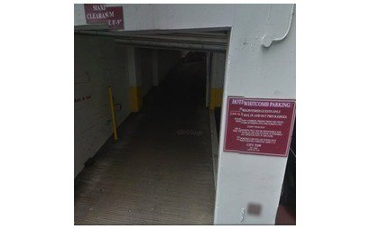 24/7 Valet Parking Garage Behind Hotel Whitcomb