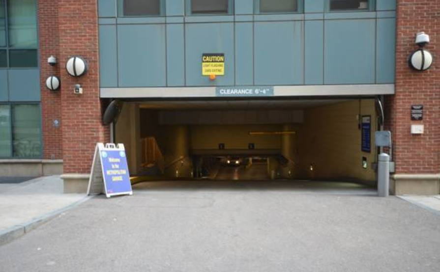 Downtown parking space in a underground garage, away from the elements of the weather and safe access!