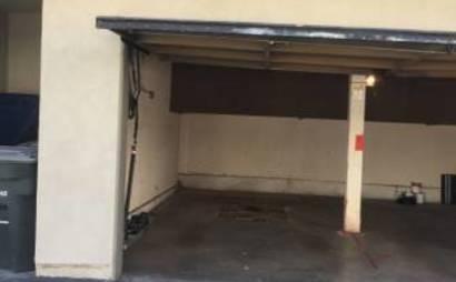 One Car Garage Parking Storage