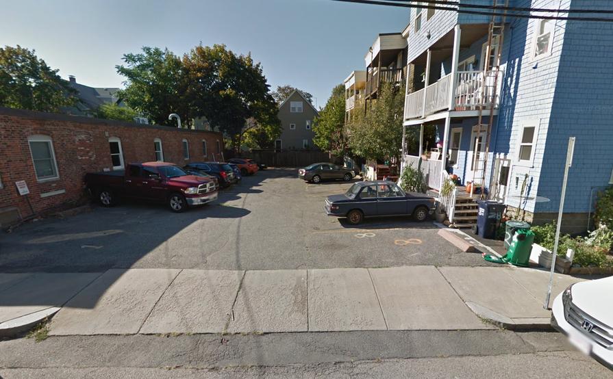 Parking Spot in Davis Square