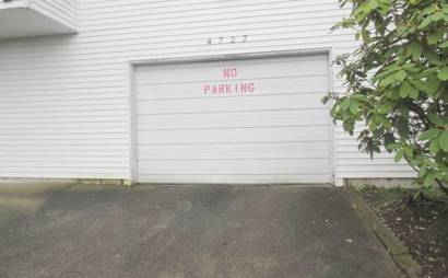 Dedicated parking space near the UW Campus! Seattle parking available
