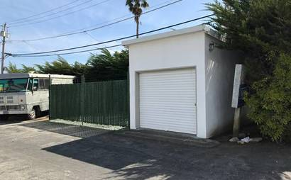 400+ square feet of secure storage/ Watsonville