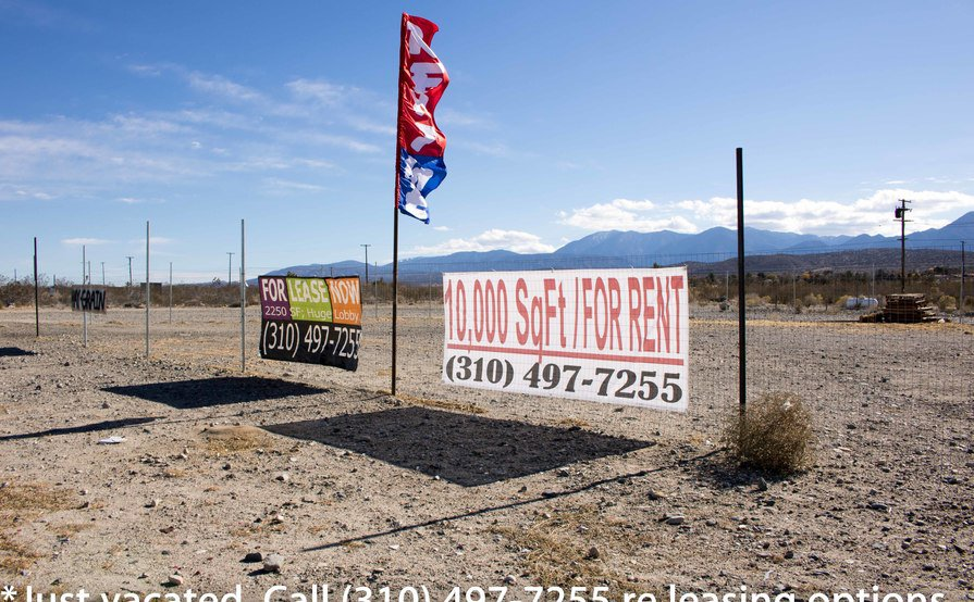 10,000-30,000-2.7 acres for filming/strge. Tons parking/fenced area.