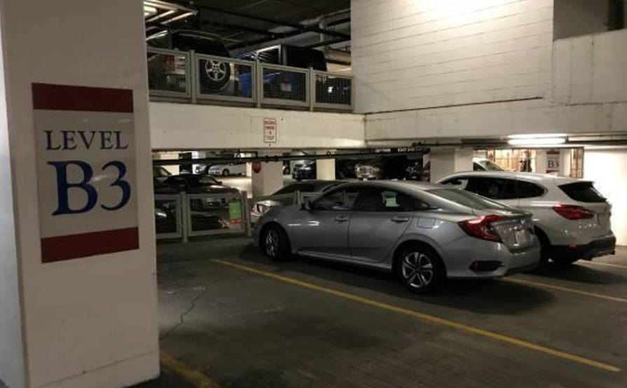 Dedicated garage parking spot @ the Ritz