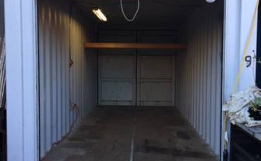 Storage space in the Bay