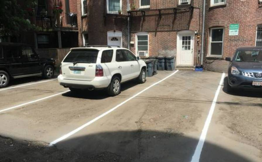 Boston parking space for rent!