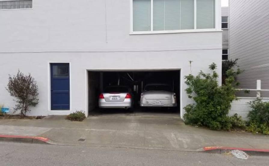 1 Car Garage -