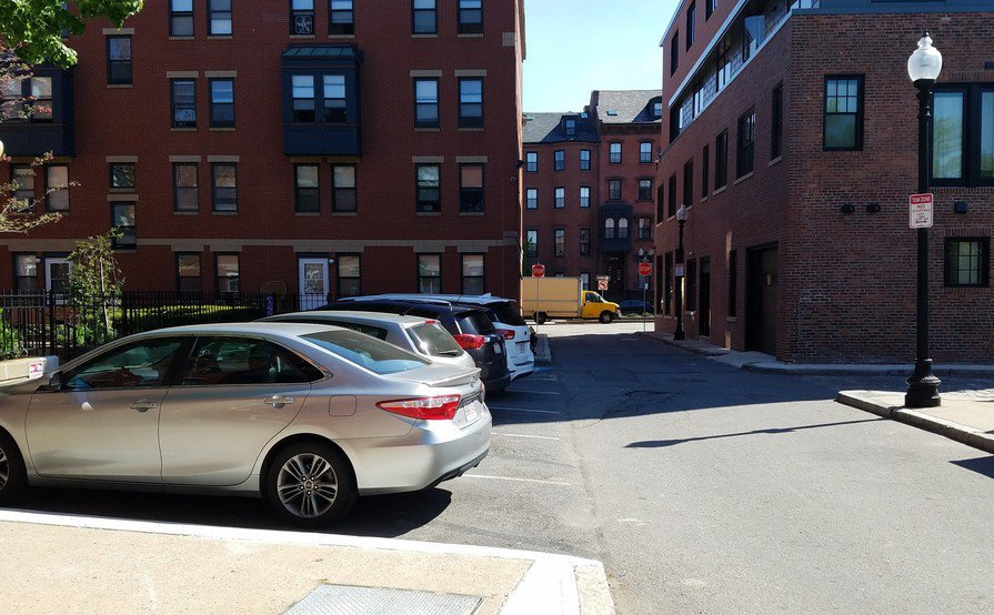 Outdoor Parking Spot in the South End