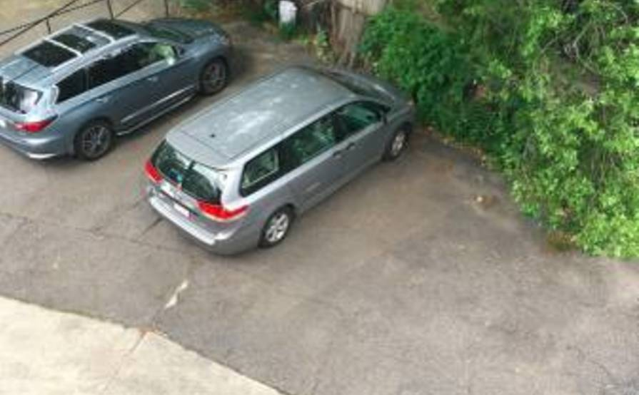 Secured Parking Space #1