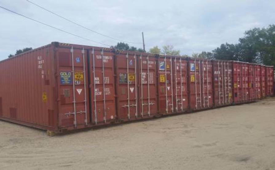 Secured and Affordable Storage Container #1