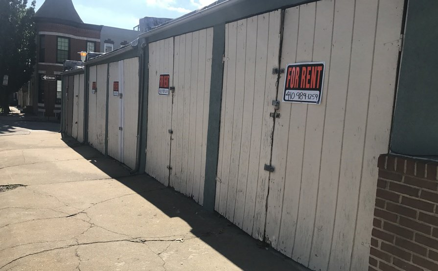 Downtown Baltimore-120sqft Storage Garage Available July 1