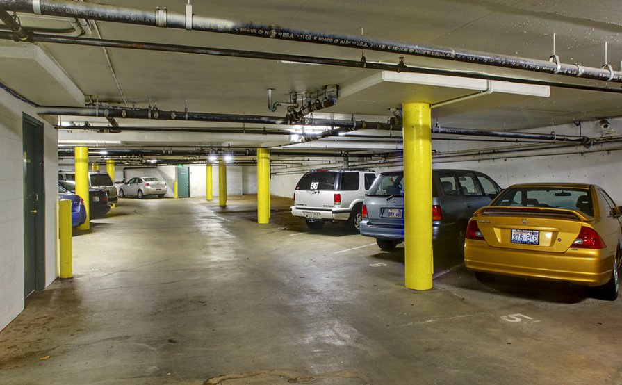 Spacious Garage Parking in First Hill