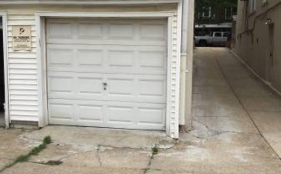 Garage parking w/ remote entry