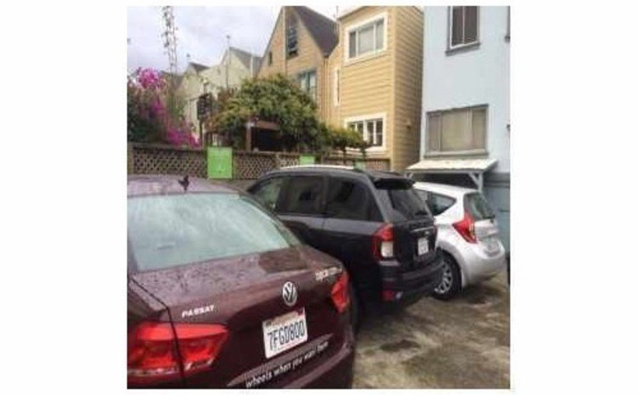 1/4 Outdoor Parking Space in Inner Sunset