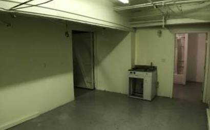 Little Saigon - Larkin Street 276 sq ft Basement Storage Room for Lease with Kitchenette & Full Bathroom!