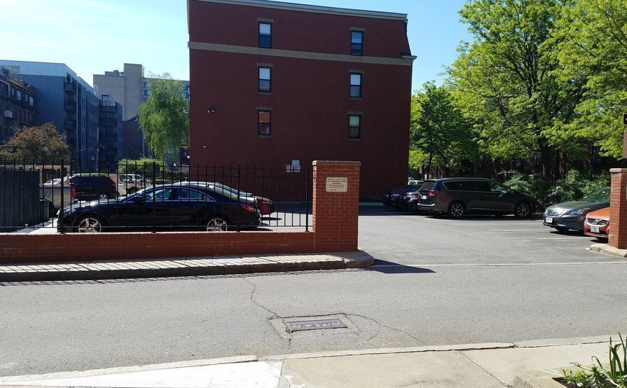 Parking Spot in the South End #2