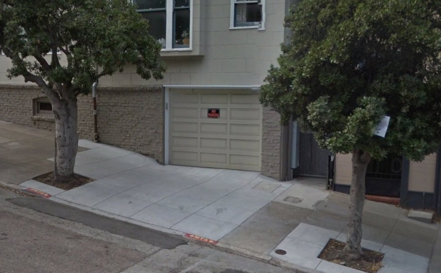 Secured Motorcycle Garage Parking or Storage Space in Russian Hill