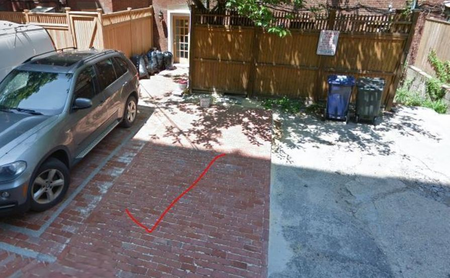 Marlborough street- Back Bay Alley Parking Space avail 12/1/2017
