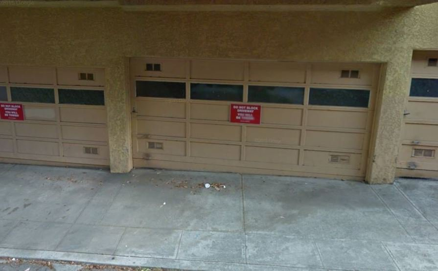 Secured garage space in Nob Hill